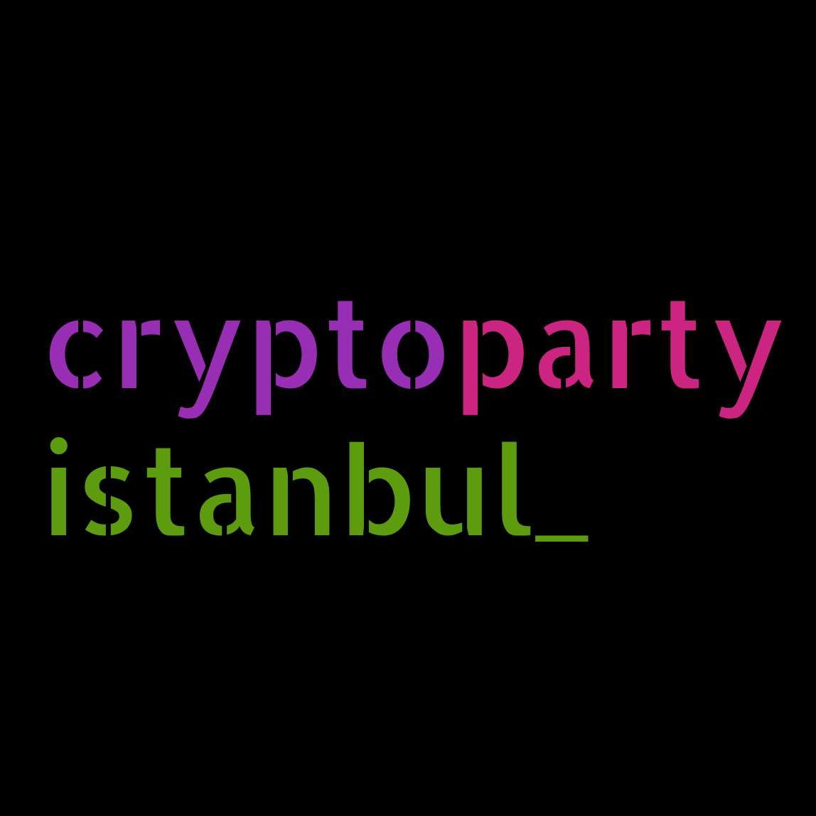 CryptoParty Istanbul
